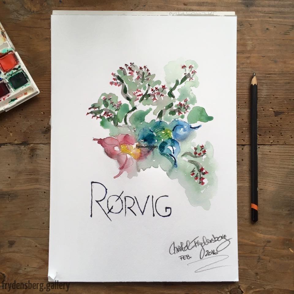 Blomster-Rørvig